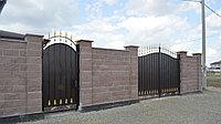 Металлические ворота, фото 1