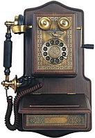 "Ретро телефон ""DELUXE WALL PHONE  1907AW"""