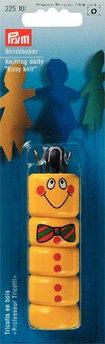 """Приспособление для вязания шнуров """"Куколка"""" желтый"""