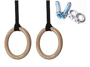 Гимнастические кольца для кроссфита (фанера), фото 2
