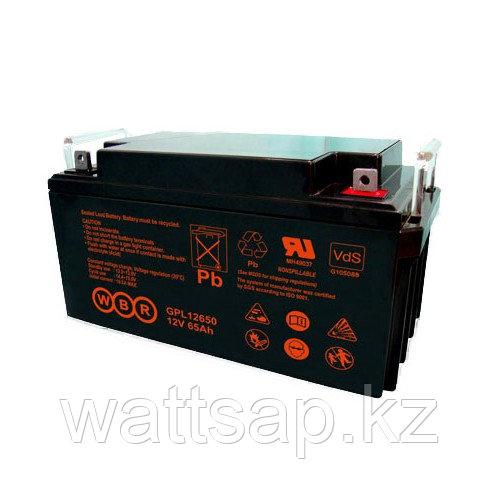 Аккумулятор GPL 12750 12В 80Ач, 260х170х202