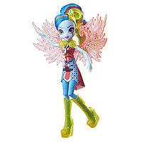 "Кукла Equestria Girls""Легенды вечнозеленого леса""Crystal Wings - Rainbow Dash"