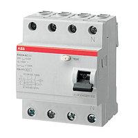2CSF204004R1400 Выключатель дифференциального тока УЗО ABB 4 полюса FH204 AC 40 А, 30 мА