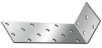 (46435) Крепежный уголок анкерный  2,0 мм,  KUL 40x80x40 мм// СИБРТЕХ//Россия
