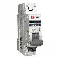Автоматический выключатель ВА 47-63, 1P 25А(В)4,5kA EKF PROxima