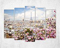 Модульная картина на холсте Сказочный Париж