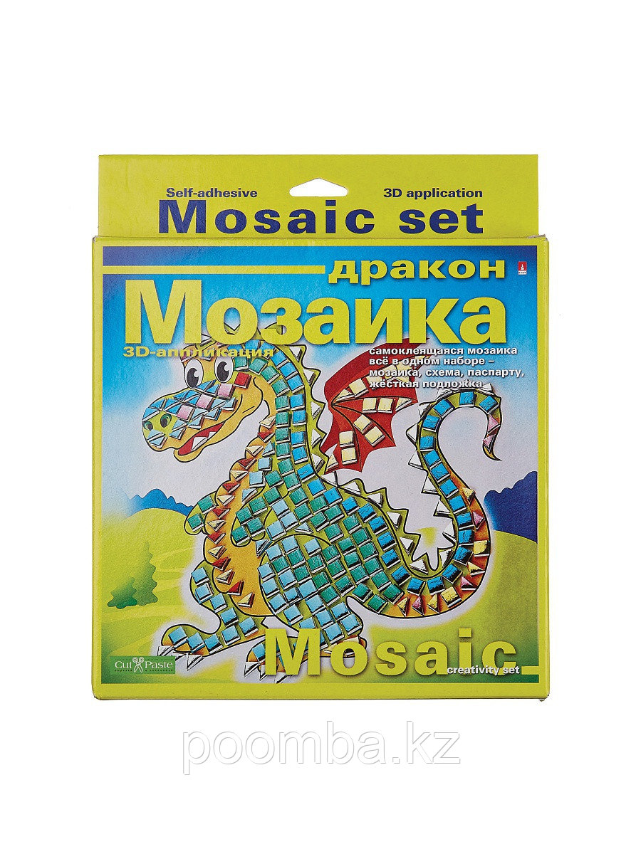 "Набор декоративная мозаика ""ДРАКОН"""