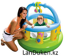 Детский надувной игровой центр Батут INTEX 130*104 см (48474 NP)