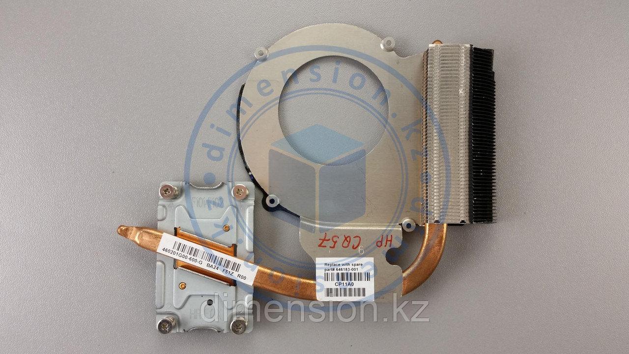 Радиатор, термотрубка COMPAQ CQ57 HP 630 для процессора от INTEL