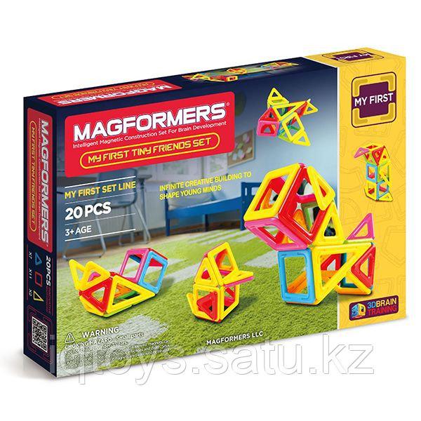 Magformers My First Tiny Friends Set Магформерс Мои маленькие друзья