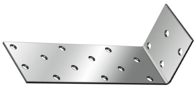 (46441) Крепежный уголок анкерный  2,0 мм,  KUL 40x80x80 мм// СИБРТЕХ//Россия