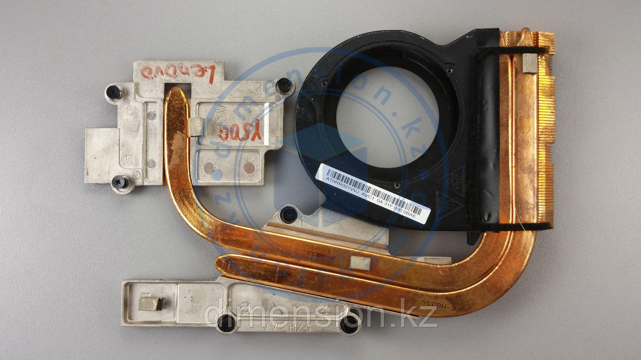 Радиатор, термотрубка LENOVO Ideapad Y500