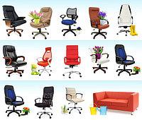 Богатый ассортимент офисных кресел, стульев, мягкой мебели в наличии со склада Алматы и под заказ!