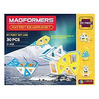 Magformers My First Ice World Set Мой первый Магформерс -Ледяной мир, фото 1