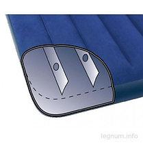 Двуспальный надувной матрас Intex 68759 Синий (Габариты: 203 х 152 х 22 см), фото 2