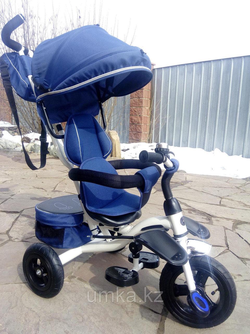 Детский трехколесный велосипед с поворотным сиденьем (6188)