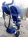 Детский трехколесный велосипед с поворотным сиденьем (6188), фото 2