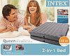 Надувной матрас-кровать Intex 67744 (серый цвет), фото 2