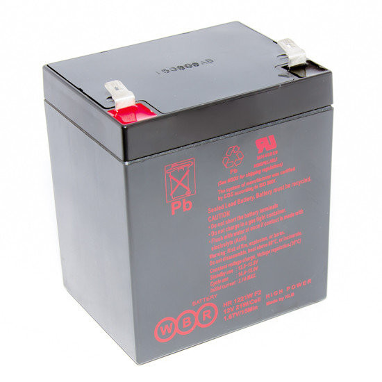 Аккумулятор HR 1221 F2 12В 5Ач, 90х70х101