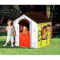 Детский игровой домик Rancho Keter зеленый/белый, фото 1