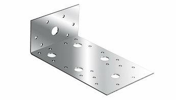 (46451) Крепежный уголок ассиметричный  2,0 мм,  KUAS 145x55x65 мм// СИБРТЕХ//Россия