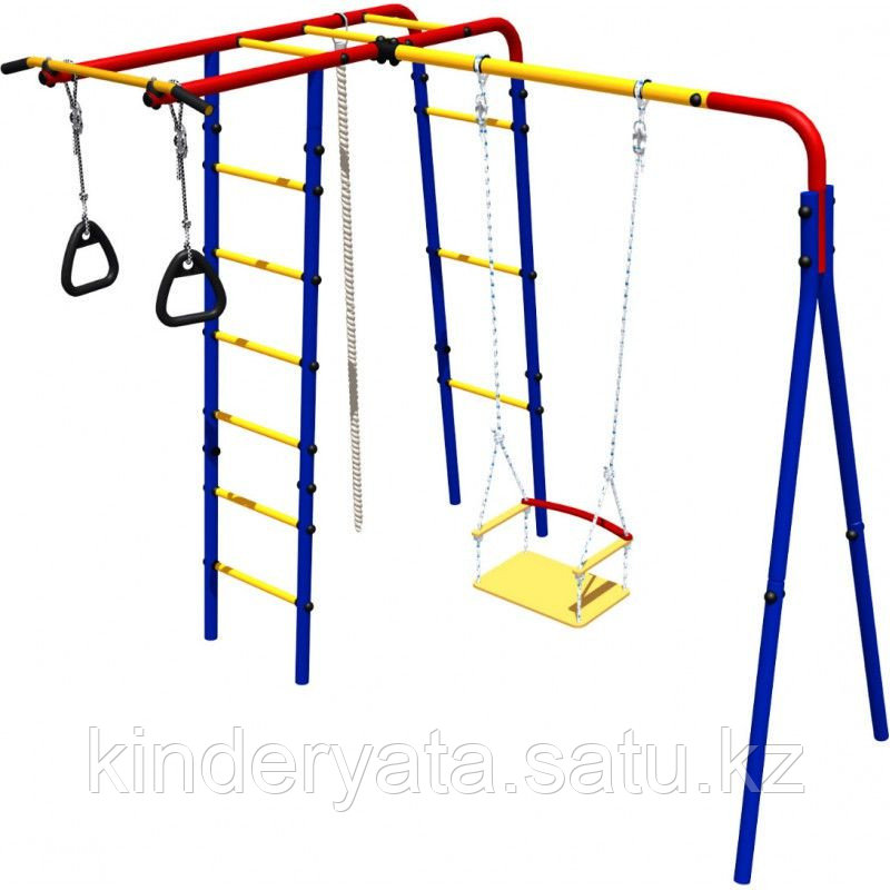 Детский спортивный комплекс Лесная поляна Romana
