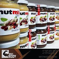 Новые вкусы арахисовой пасты NutMix!