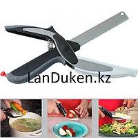 Кухонный нож ножницы с разделочной доской SMART CUTTER