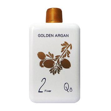 Q8 Золотой Арган 2 • Фиксатор для химической завивки • 400 мл