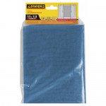 """Сетка STAYER """"STANDARD"""" противомоскитная, для окон, в индивидуальной упаковке, стекловолокно+ПВХ, синяя, 1, 1 х 1, 3м"""
