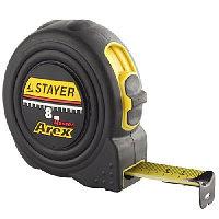"""Рулетка STAYER """"PROFI"""" """"AREX"""", двухкомпонентный противоударный корпус, упрочненное полотно, 8м/25мм"""