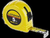 "Рулетка STAYER ""МASTER"" ""MaxTape"", пластиковый корпус, 7м/25мм"
