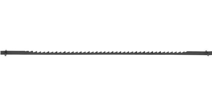 Полотно ЗУБР для лобзик станка ЗСЛ-90 и ЗСЛ-250; по тверд древисине; сталь 65Г, L=133мм, шаг зуба 2, 5мм (10 TP