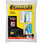 """Пленка STAYER """"MASTER"""" защитная укрывочная, HDPE, 12 мкм, 4 х 12, 5 м"""