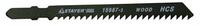 """Пилки STAYER """"PROFI"""" для эл/лобзика, HCS, по дереву, ДСП, фигур. рез, EU-хвост., шаг 2мм, 50мм, 2шт"""