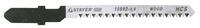 """Пилки STAYER """"PROFI"""" для эл/лобзика, HCS, по дереву, ДСП, ДВП, EU-хвост., шаг 2, 5мм, 75мм, 2шт"""
