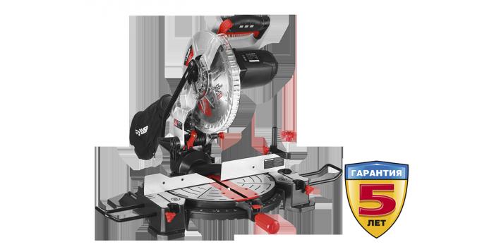 """Пила ЗУБР """"МАСТЕР"""" торцовочная, 255 мм, 1600 Вт, 5000 об/мин, лазер, удлинители стола"""