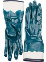 """Перчатки ЗУБР """"МАСТЕР"""" рабочие с полным нитриловым покрытием, размер M (8)"""