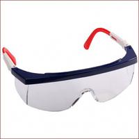 Очки STAYER защитные с регулируемыми по длине дужками, поликарбонатные прозрачные линзы с оправой