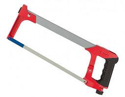 """Ножовка ЗУБР """"МАСТЕР"""" по металлу, усиленная рамка, металлическая обрезиненная ручка, 300мм"""