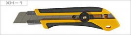 Нож OLFA с выдвижным лезвием, двухкомпонентный корпус, трещоточный фиксатор, 25мм