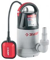 Насос ЗУБР погружной, дренажный, для чистой воды, напор 8, 5 л, 250 л/мин, 750Вт