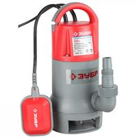 Насос ЗУБР погружной для грязной воды, пропускная способность 200 л/мин, 550Вт