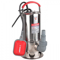 Насос ЗУБР погружной для грязной воды, корпус из нержавеющей стали, пропускная способность 230 л/мин, 750Вт