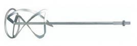 """Насадка ЗУБР """"ЭКСПЕРТ"""" для миксеров ЗМР-1200Э-1, перемешивание сверху-вниз, М14, d 140, L=590 мм"""