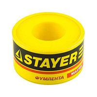 "Фумлента STAYER ""MASTER"", плотность 0, 25 г/см3, 0, 075ммх19ммх10м"