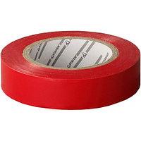 "Изолента STAYER ""PROFI"" красная ПВХ, на карточке, 15мм х 10м х 0, 18мм"
