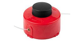 """Катушка ЗУБР для триммера с леской """"круг"""", полуавтомат, для ЗТЭ-350, max диаметр лески 1.6мм, в сборе"""