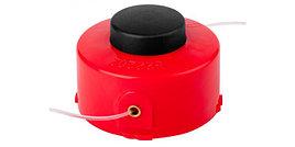 """Катушка ЗУБР для триммера с леской """"круг"""", полуавтомат, для ЗТЭ-450, max диаметр лески 1.6мм, в сборе"""
