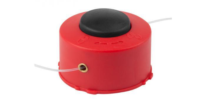 """Катушка ЗУБР для триммера с леской """"круг"""", полуавтомат, для ЗТЭ-250, max диаметр лески 1.2мм, в сборе"""